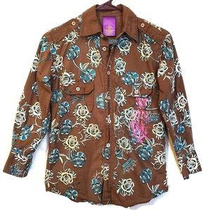Christian Audigier Kids Ed Hardy Long Sleeve Shirt